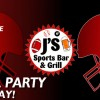 Football Parties every Sunday at J's
