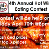 4th Annual Hot Wings Eating Contest