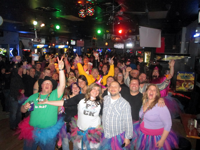 2013 Crowd from the stage at J's Sports Bar and Grill