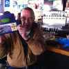 Bill K was one of our winners of Buzztime Trivia which is an online trivia game played against bars across Lake County, Chicago, and all across the U.S.