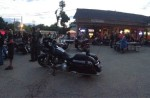 A Summer ride through Lake County Illinois brought hundreds of bikes to J's for a rally charity event