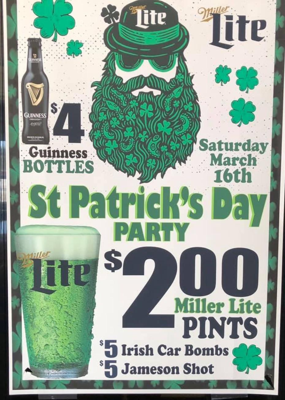 St. Patrick's Day Bash 2019