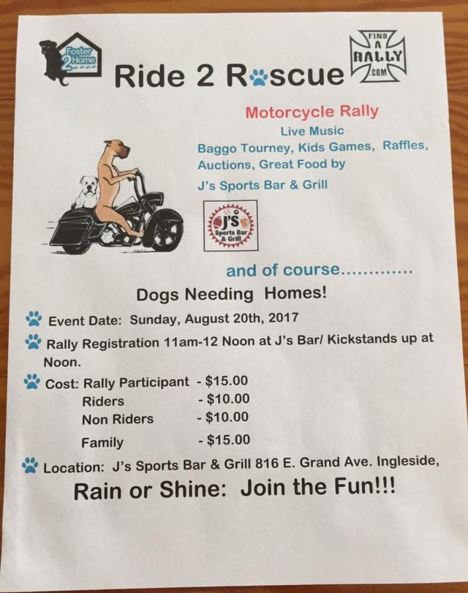 Ride 2 Rescue
