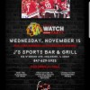 Blackhawks Watch Party | Nov. 15th.