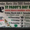 St. Paddy's Day Weekend Bash 2018