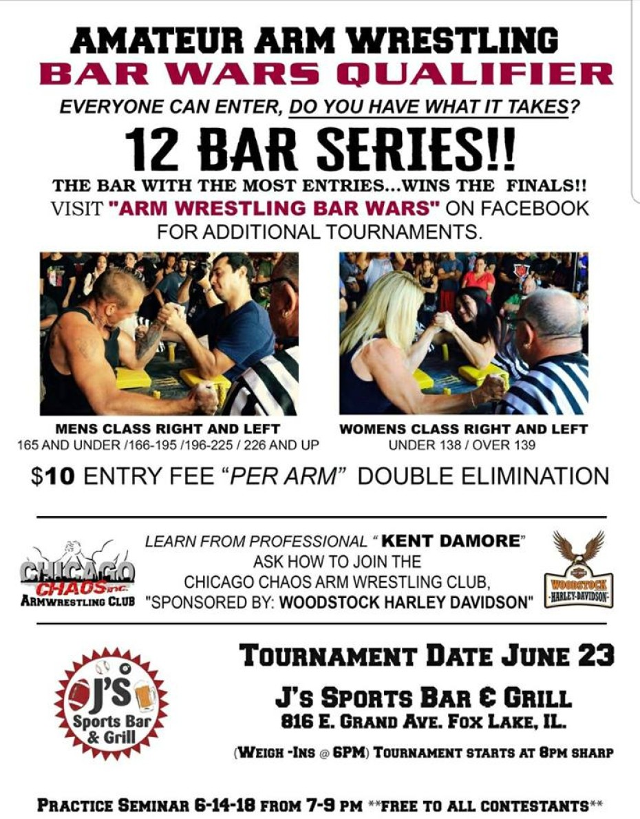 Amateur Arm Wrestling | June 23rd